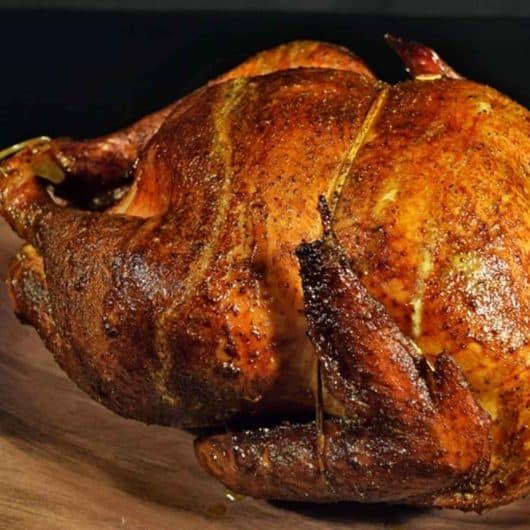 Easy 3-Ingredient Smoked Turkey