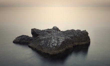 Serene Ocean Landscape