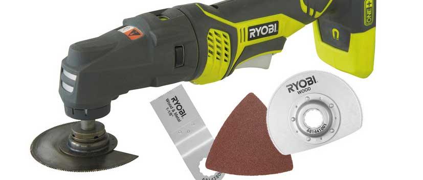 Review: Ryobi ONE+ Multi Tool RMT1801M