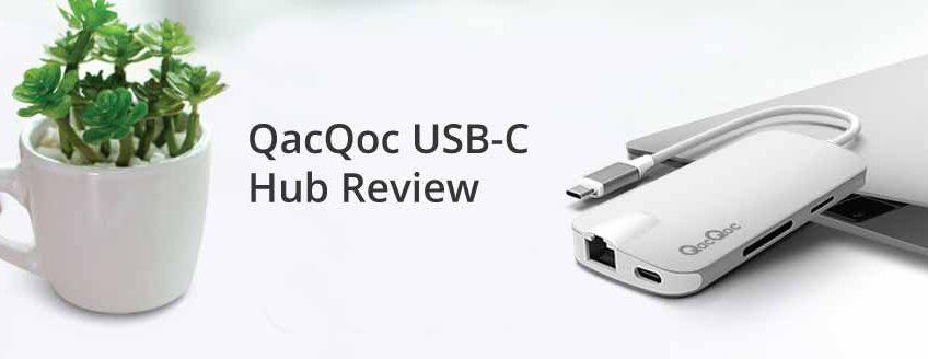 Review of QacQoc USB C Hub/Port Replicator (GN30H)