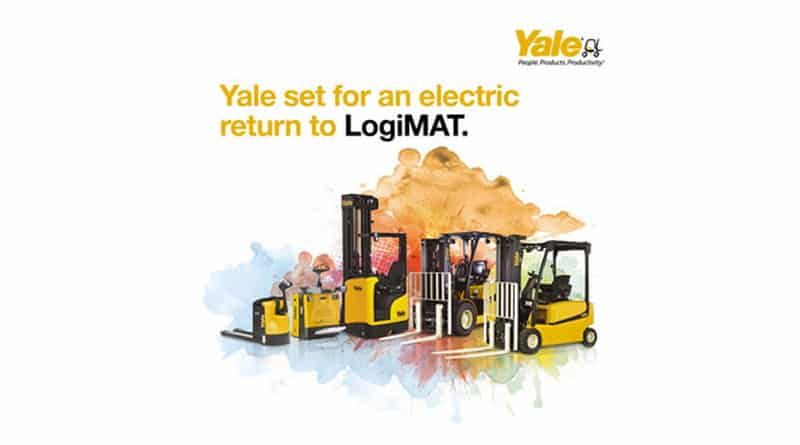 Yale set for electric return to LogiMAT 2020