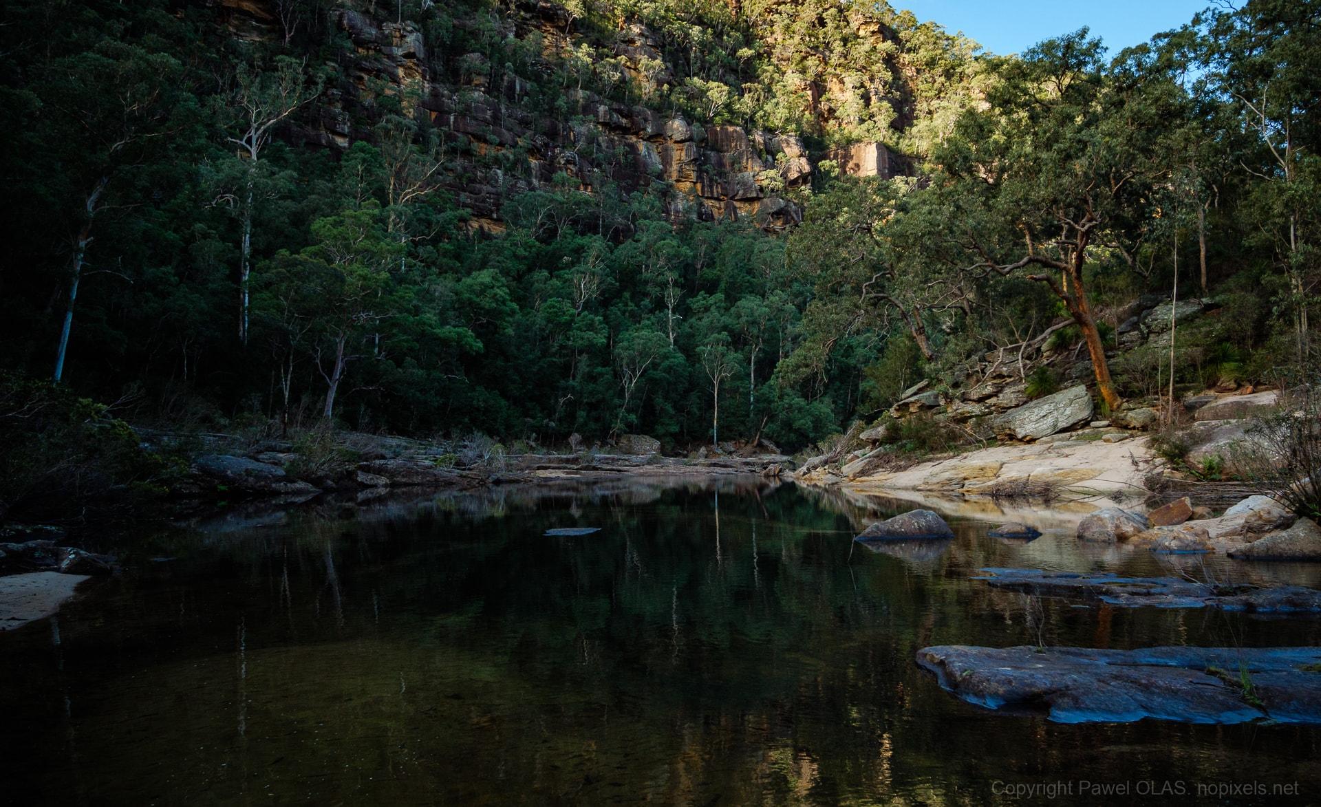 Erskine Creek from Pisgah Rock.