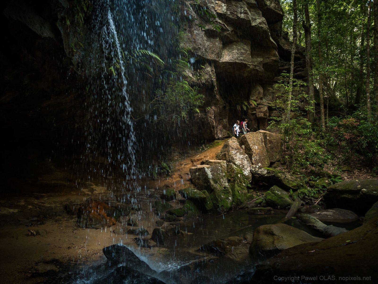 Burgess falls track – horseshoe falls