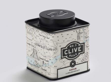 No3 Clive Road Hand Drawn Tea Regional Maps