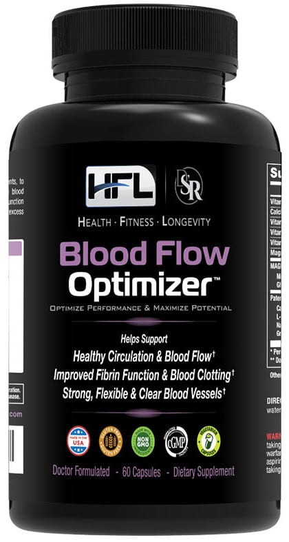Blood flow optimizer Dr Sam Robbins how to reduce calcification in the arteries