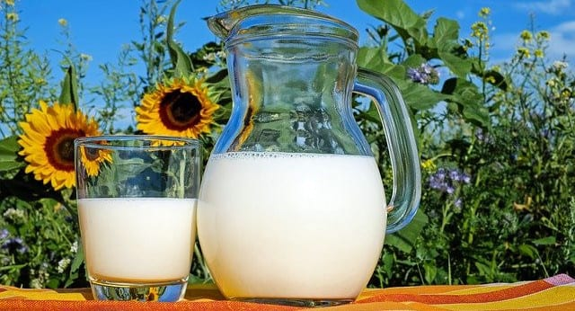 how to reverse calcification of the arteries glass of milk image