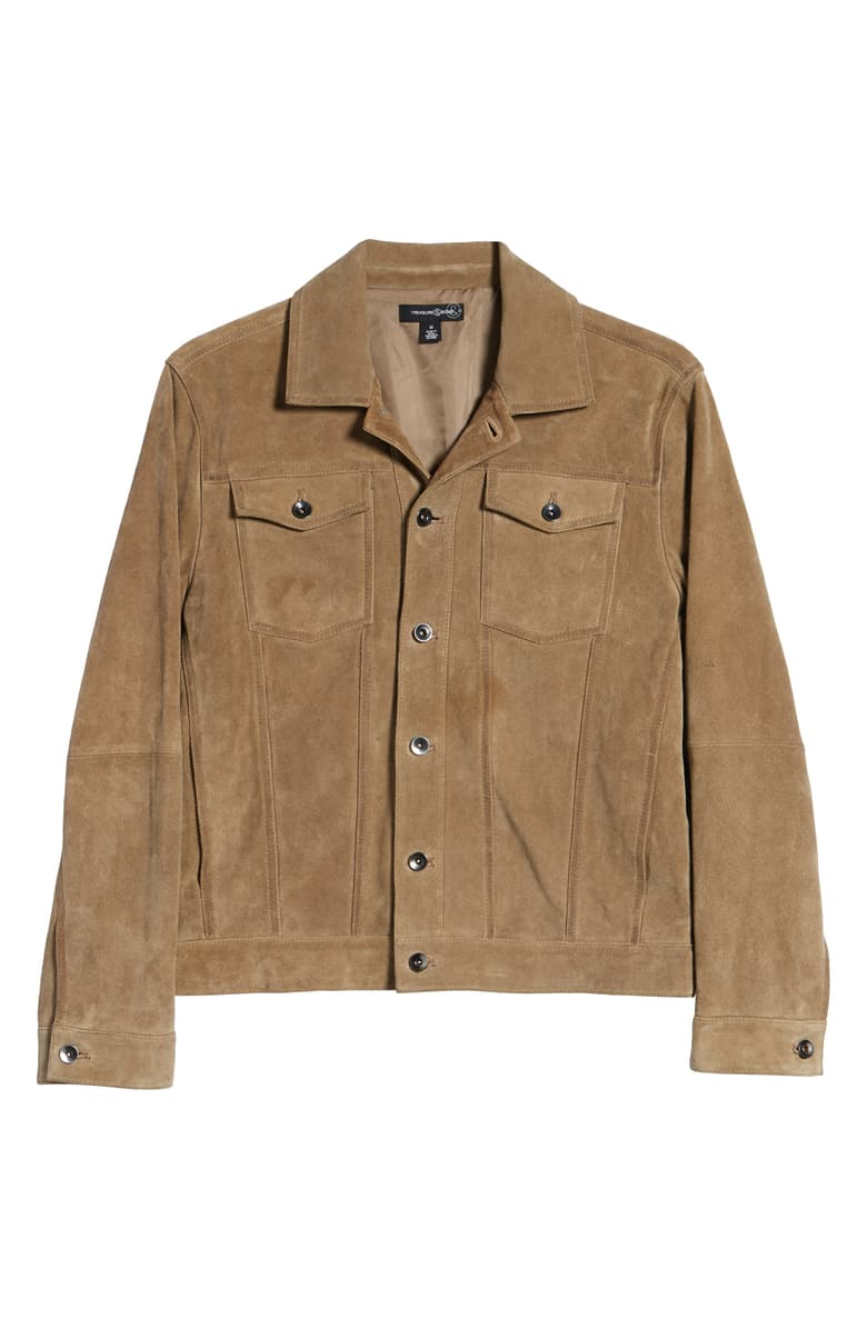 treasure & bond camel trucker jacket