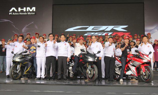 Kipas-kipas Dollar, sepanjang 2018 AHM Ekspor Hampir Setengah Juta Unit Sepeda Motor Honda!