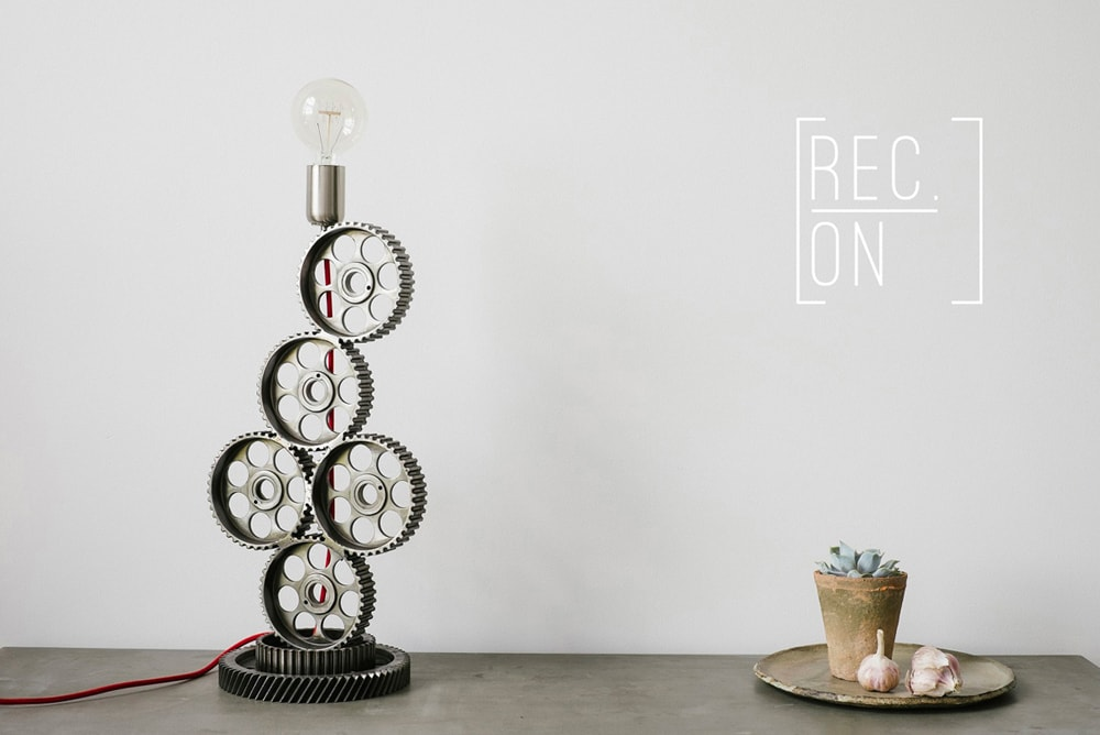 Upcycled design od REC.ON