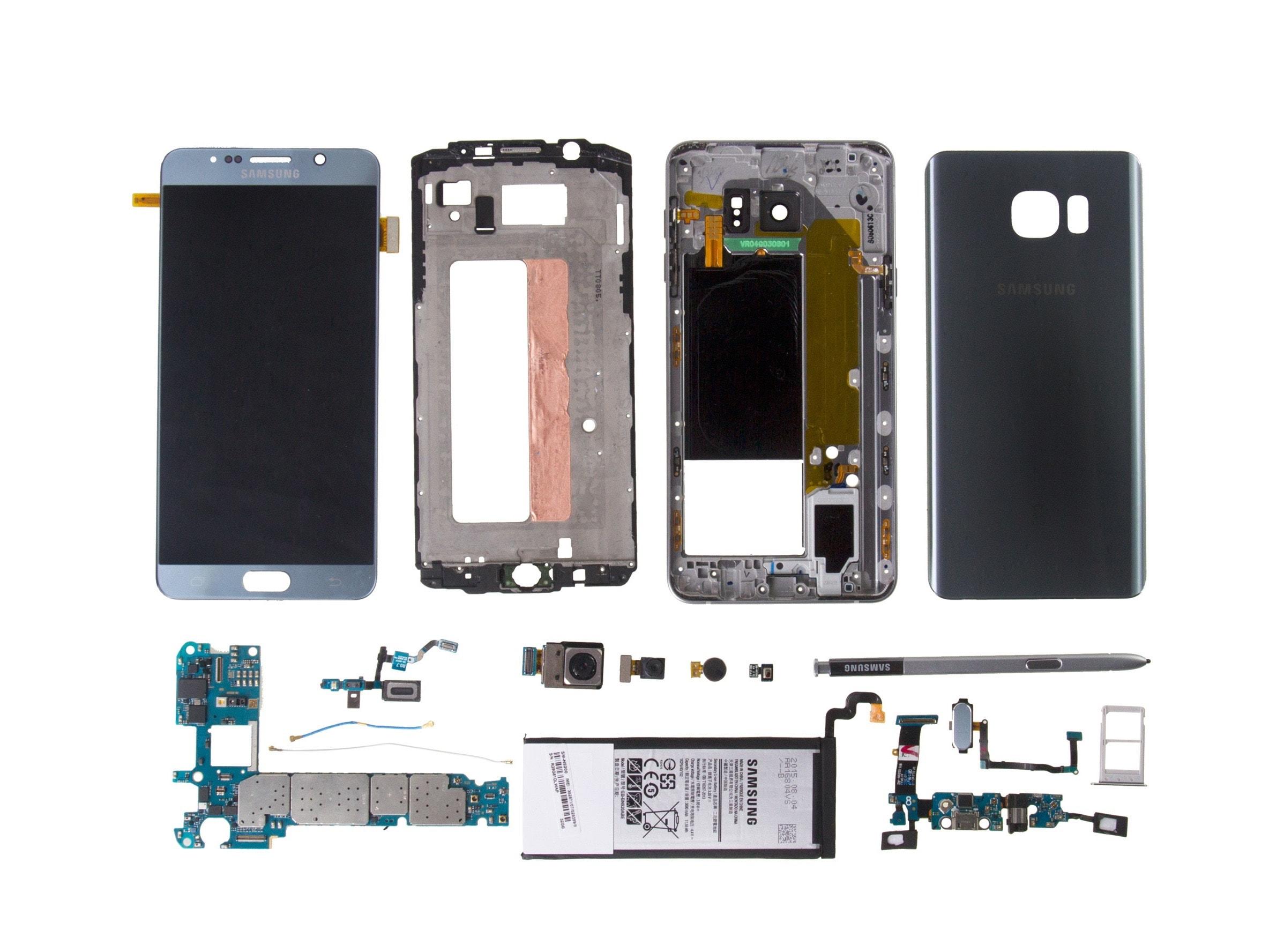 Samsung galaxy note 5 screen LCD Digitizer repair Mississauga