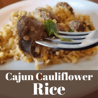 Cajun Cauliflower Rice