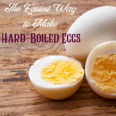 The Easiest Way to Make Hard Boiled Eggs