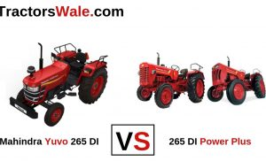 Mahindra Yuvo 265 DI vs 265 DI Power Plus Tractor Comparison 2019