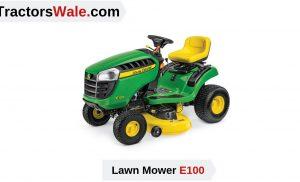 Lawn Mower E100 Grass Cutter Tractor Price Specs | Lawn Tractor