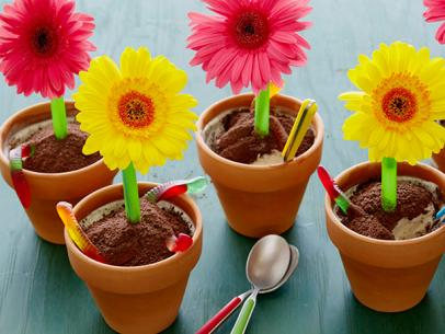 ice cream flower pot