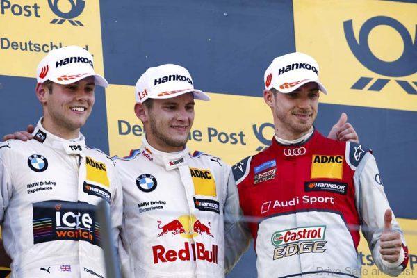#11 Marco Wittmann, BMW M4 DTM, #31 Tom Blomqvist, BMW M4 DTM, #48 Edoardo Mortara, Audi RS5 DTM
