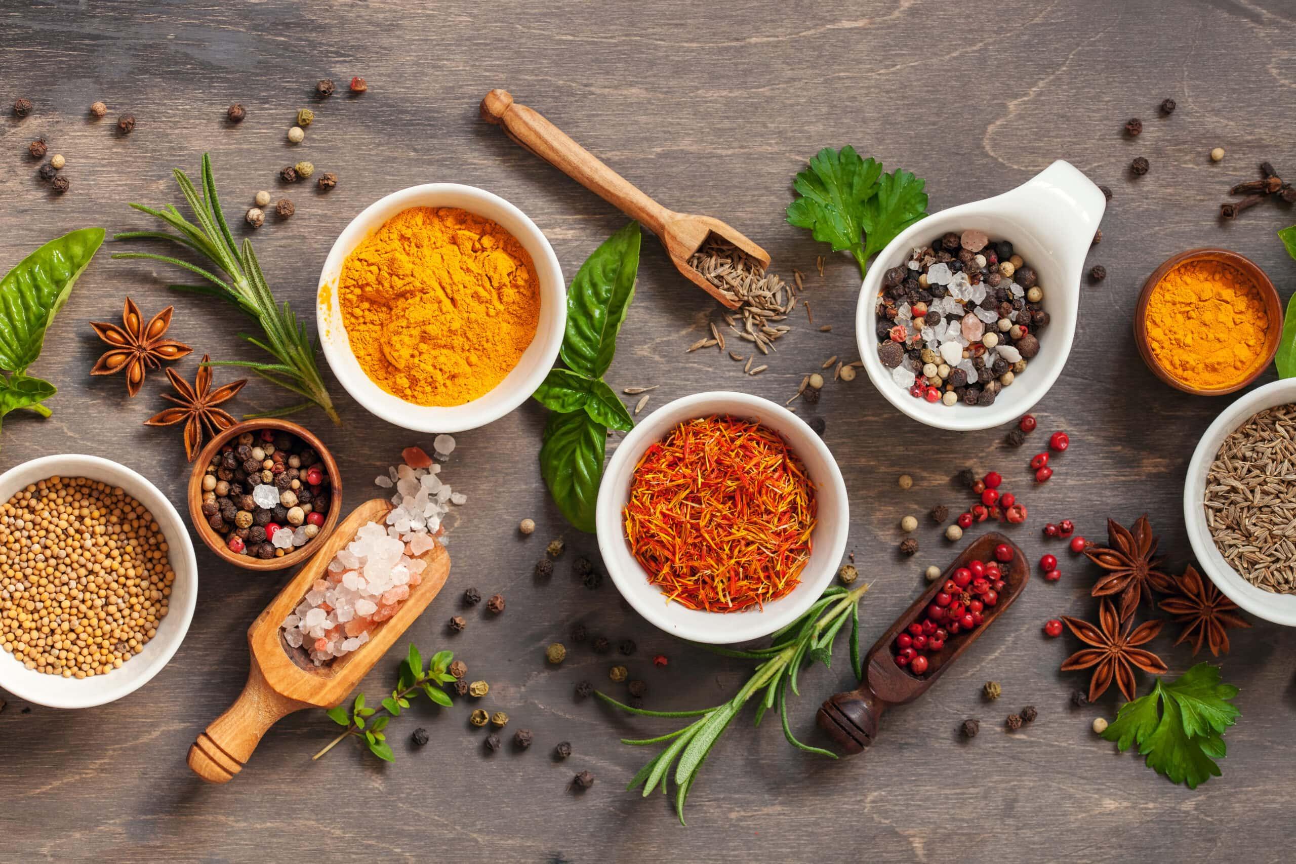 Spice and herb seasonings