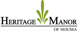 Heritage Manor of Houma [logo]