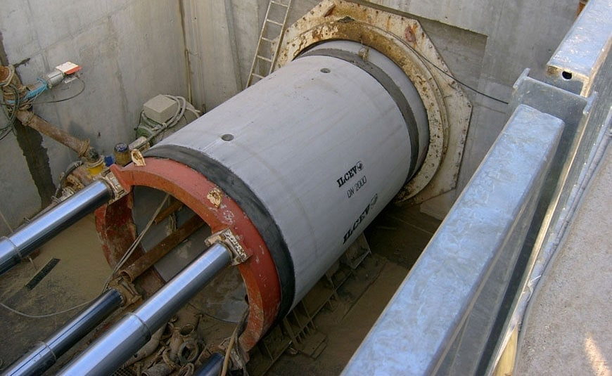 ILCEV Concrete and polycrete Jacking pipes