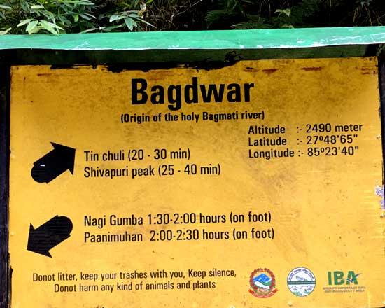 shivapuri bagdwar