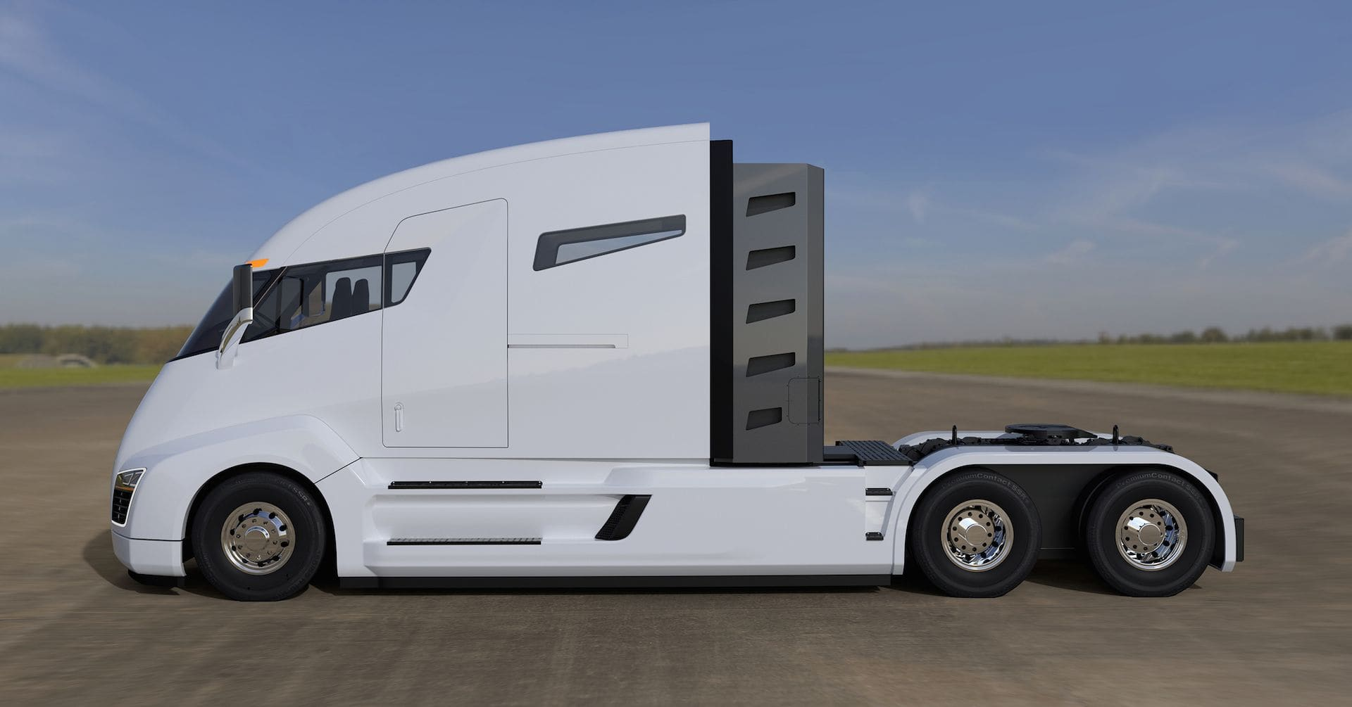 Electric Island Available is for Heavy-Duty Electric Trucks