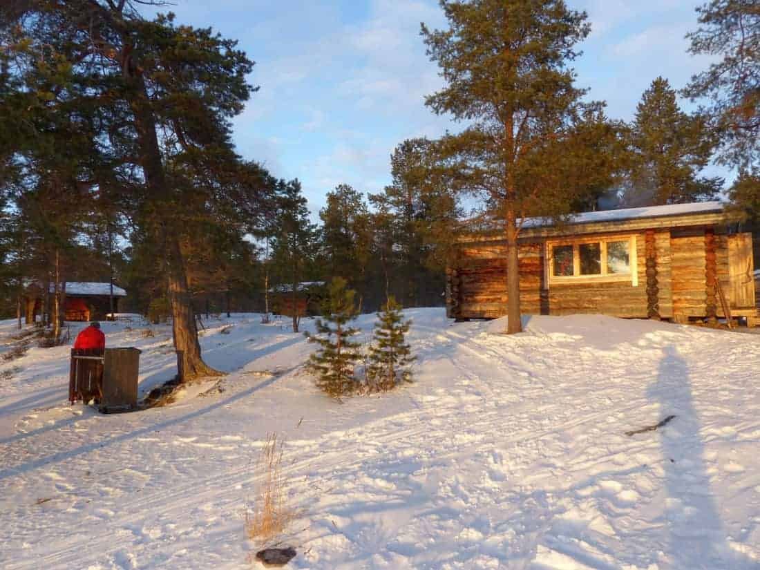 3.Nacht Open Wilderness Hut Kahkusaari