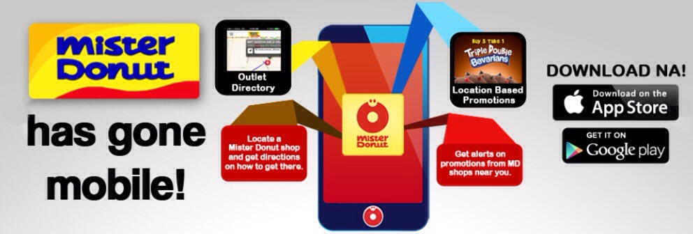 Mister Donut goes mobile!