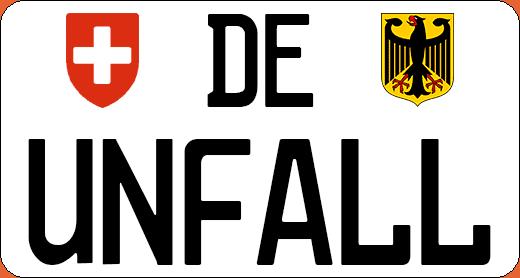 Unfall in Deutschland Schweiz