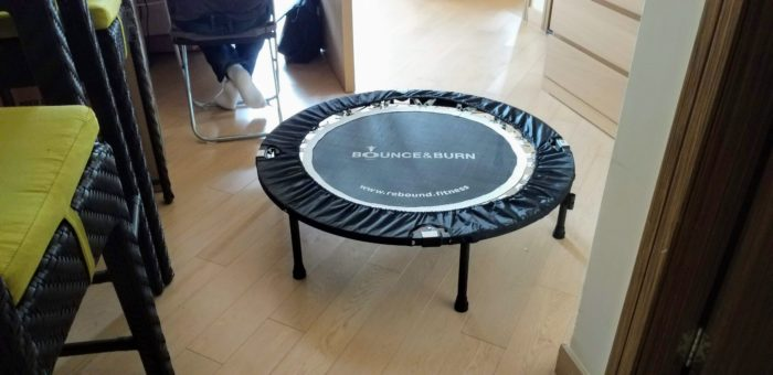 Rebounder takes up a lot of floor space but it's worth it given the cancer for cancer.