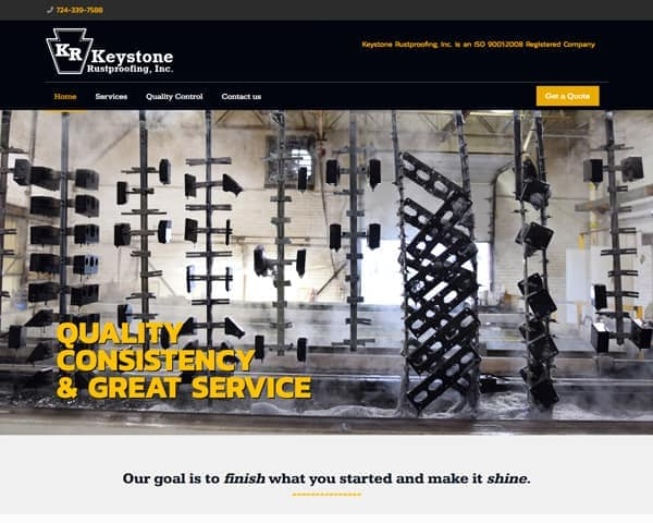 Keystone Rustproofing Website