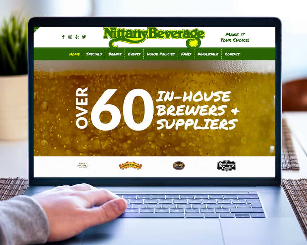 Nittany Beverage Website