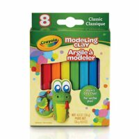 Crayola Modeling Clay, 4.8 Ounce Pack, Set of 8, Assorted Classi