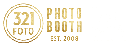321 FOTO ♥ Photo Booth Rentals Seattle · Bellevue · Tacoma · Olympia · Portland Oregon Logo