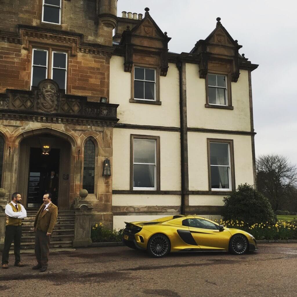 Luxury Cameron House at Loch Lomond in Scotland