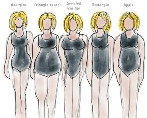 different body shapes   40plusstyle.com
