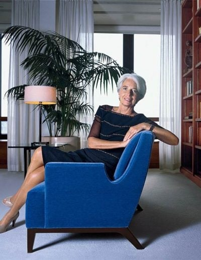 How to dress like Christine Lagarde | 40plusstyle.com