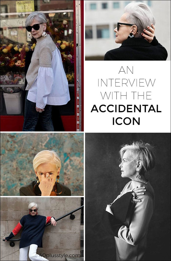 An Interview with the Accidental Icon } 40plusstyle.com