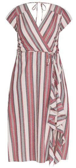 City Chic wrap dress   40plusstyle.com