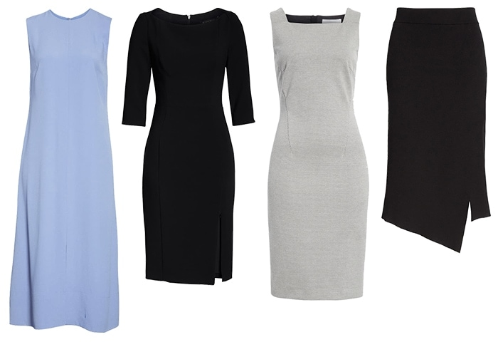 Dresses and skirt for the minimal style personality | 40plusstyle.com