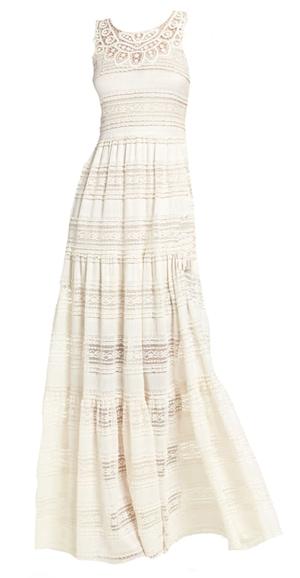 lace maxi dress | 40plusstyle.com