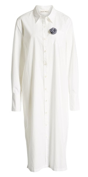 maxi shirtdress | 40plusstyle.com