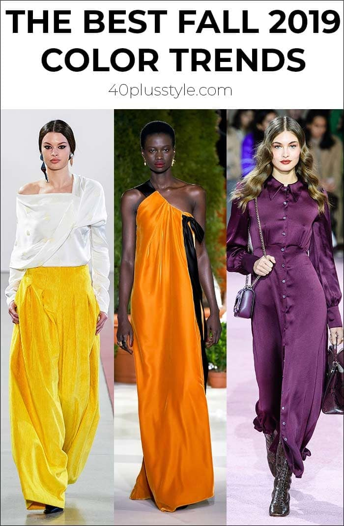 The best color trends for fall 2019 | 40plusstyle.com