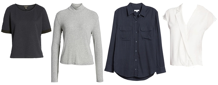 Tops for the minimal style personality | 40plusstyle.com