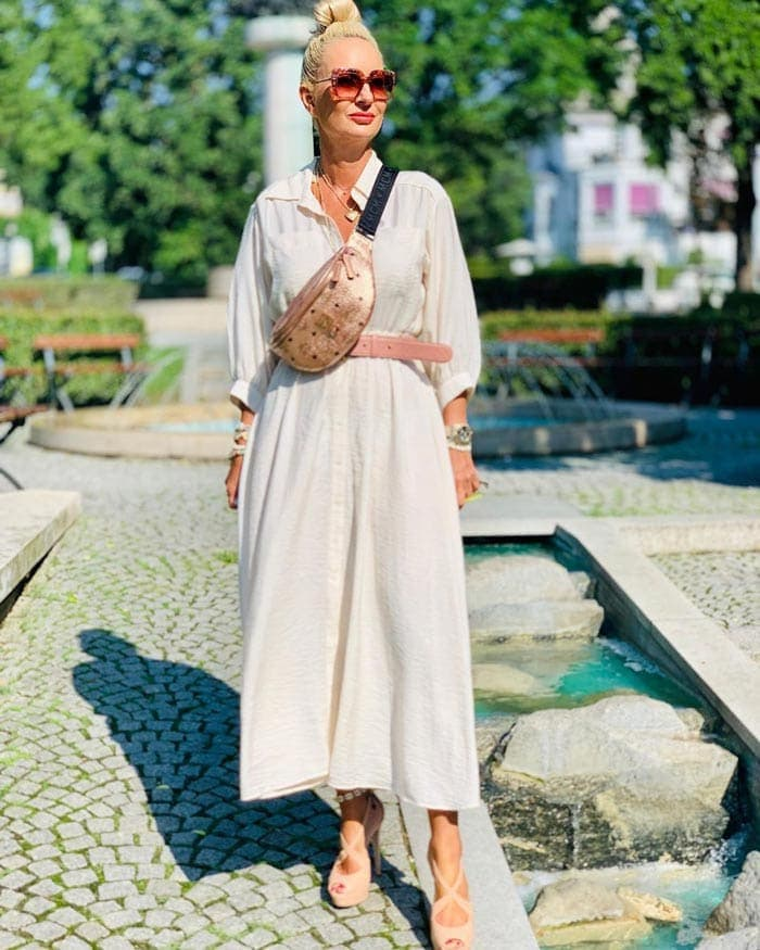 tall maxi dress ideas for tall women | 40plusstyle.com