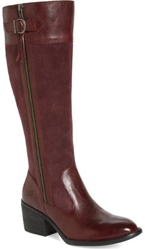 Born Uchee knee length boot | 40plusstyle.com