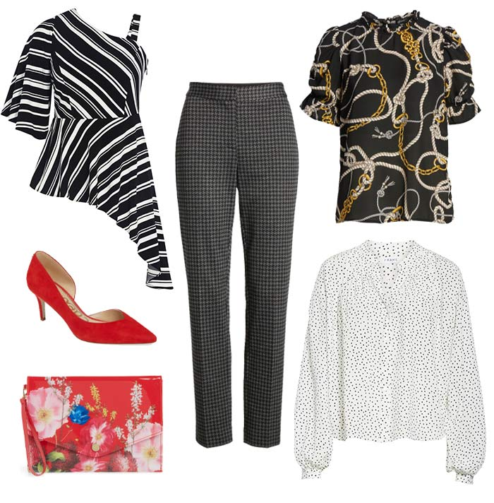 Mixing fashion prints and patterns | 40plusstyle.com