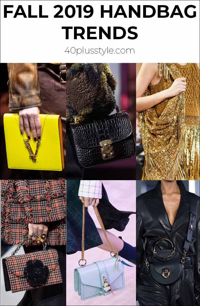 The best handbag trends for you to try this fall | 40plusstyle.com