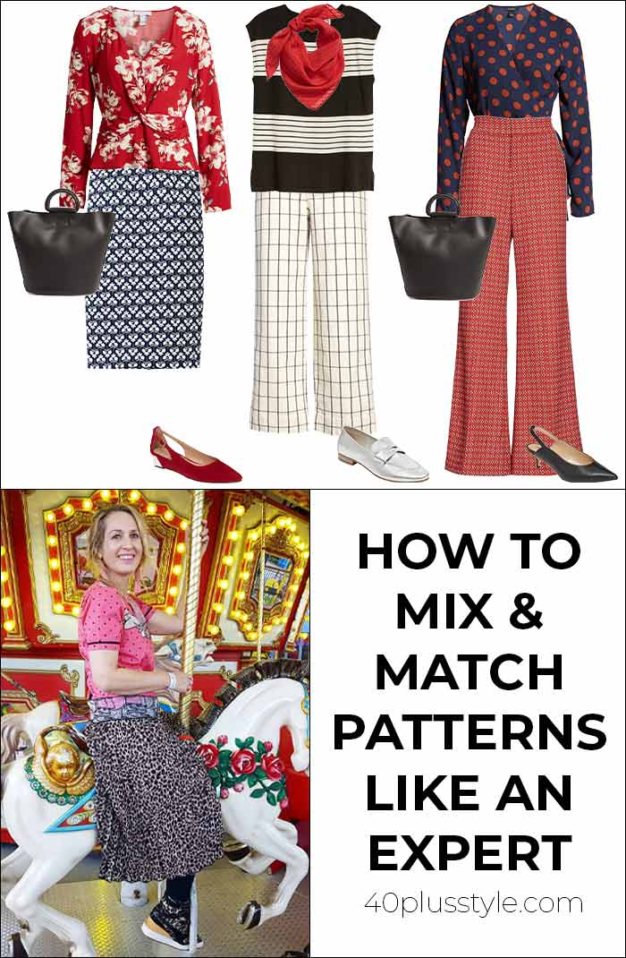 How to mix prints and patterns like an expert | 40plusstyle.com