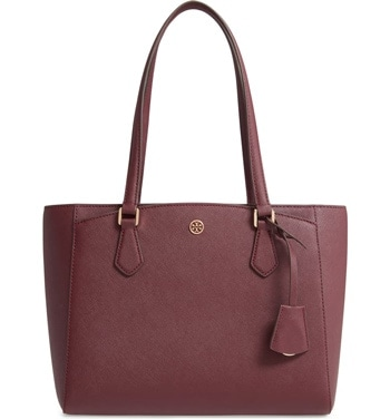 tote leather bag | 40plusstyle.com