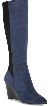 Charles by Charles David Energy Wedge knee high boot | 40plusstyle.com